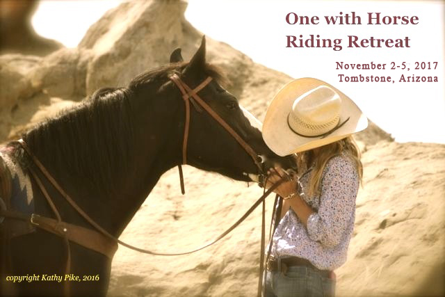 One with Horse Riding Retreat Kathy Pike